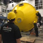 Swedish wave energy group anchors in Orkney