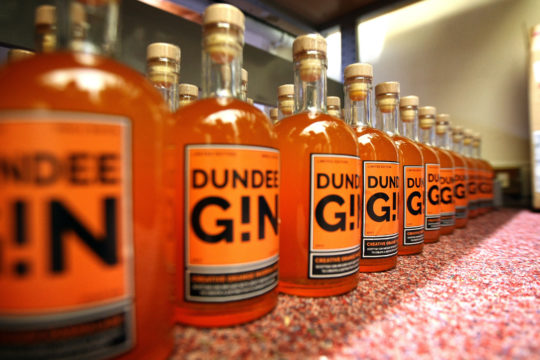 Featured Image for Why Dundee Gin maker Peter Menzies hopes the future's orange