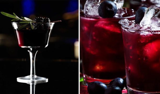 Featured Image for Here's How to Make a Home-made Blackberry Gin Shrub Cocktail