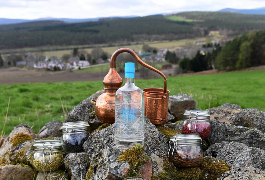 Featured Image for New distillery caps remarkable growth for Esker Gin's Steve and Lynne Duthie