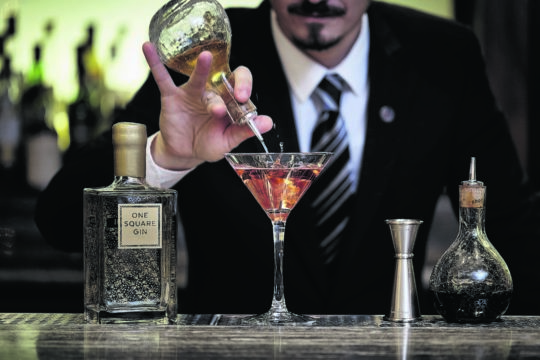 Featured Image for Sheraton Grand's One Square Gin Experience is the natural choice