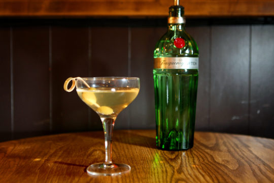 Featured Image for Dirty Martini with Tanqueray 10