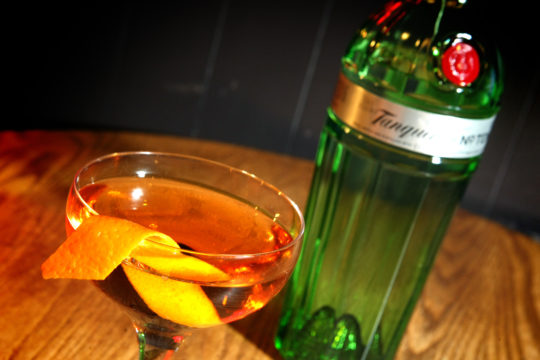 Featured Image for Martinez, with Tanqueray 10 gin