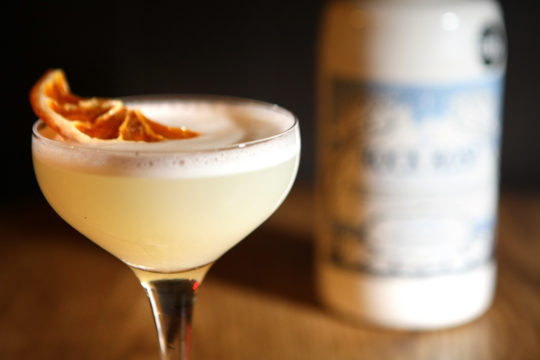 Featured Image for White Lady cocktail, with Rock Rose gin