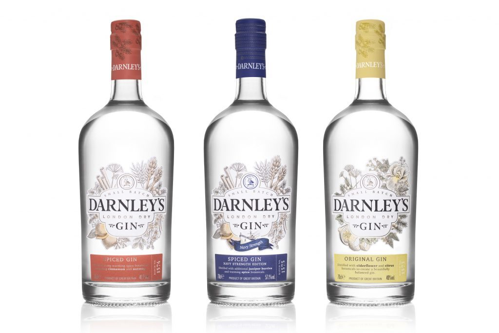very berry gin is the latest in the Darnley's Gin collection