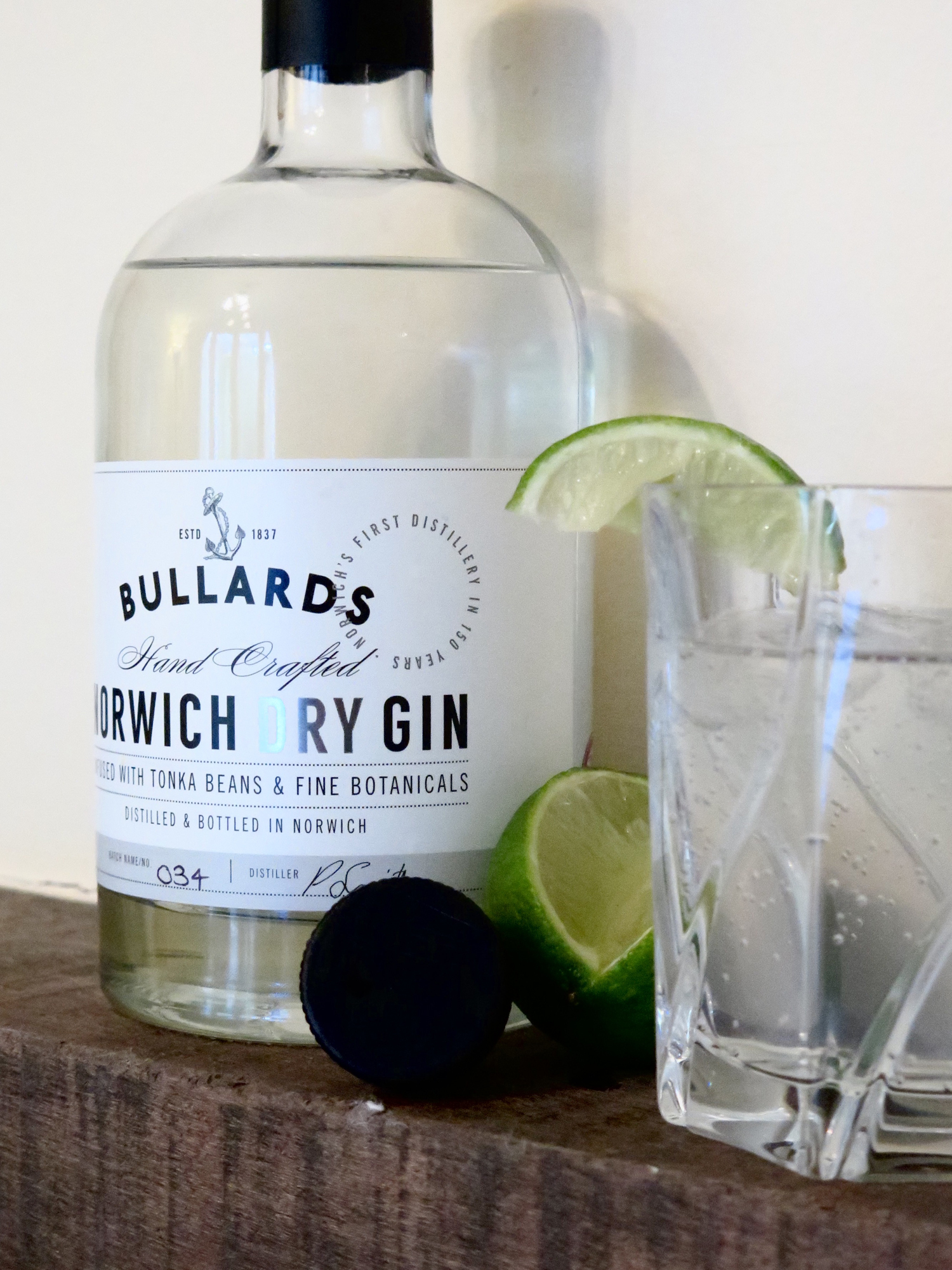 bullards norwich dry gin review