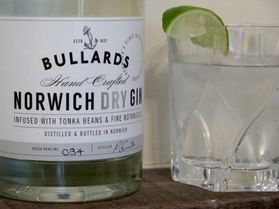 Featured Image for REVIEW: Bullards Norwich Dry Gin