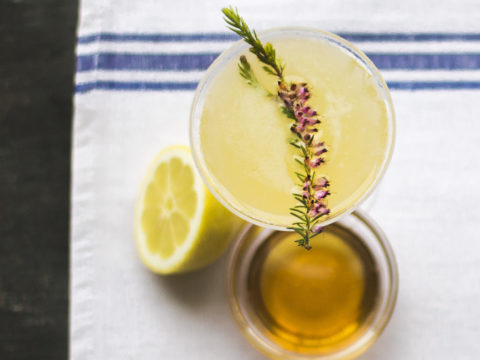 Featured Image for Bee's Knees Cocktail Recipe