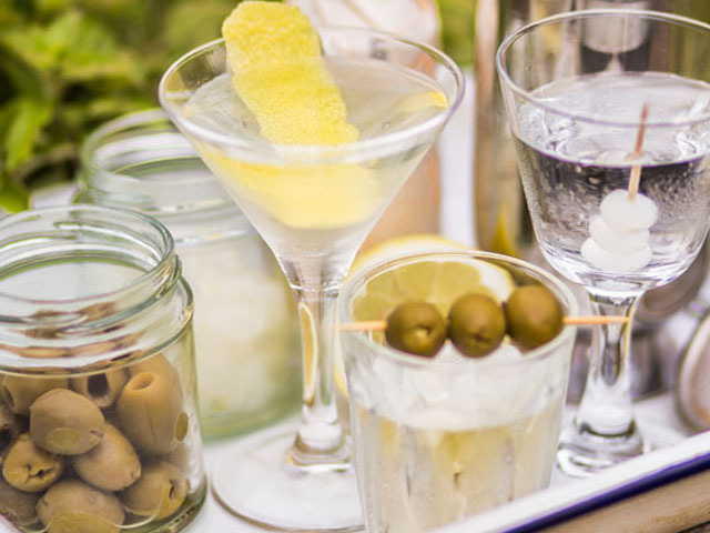 Featured Image for The classic dry martini, with frozen gin