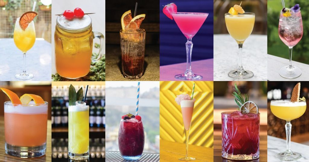 edinburgh cocktail weekend