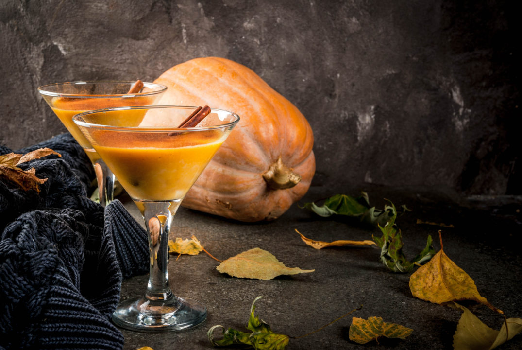 Featured Image for Pumpkin Pie Martini, with Caorunn Gin