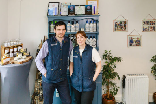 Featured Image for The Scottish gin with a million pound turnover