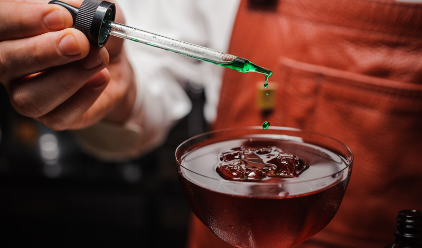 gin garnish