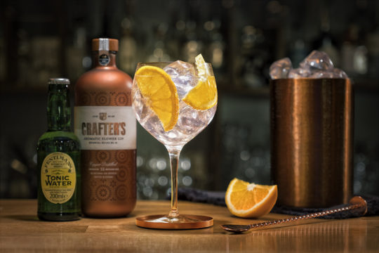 Featured Image for The magic gin that changes colour when you add tonic