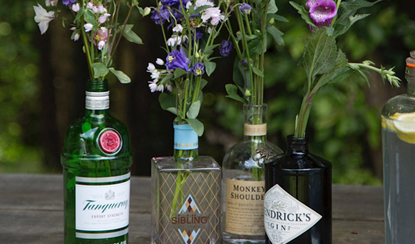 Featured Image for 10 Great Things You Can Do with Your Old Gin Bottles