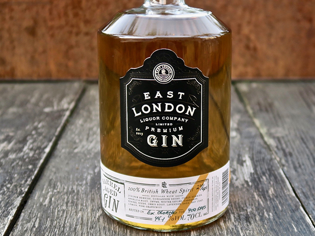 Featured Image for A London distillery barrel aged gin for 400 days