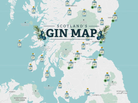 Featured Image for New interactive gin map shows every distillery tour in Scotland