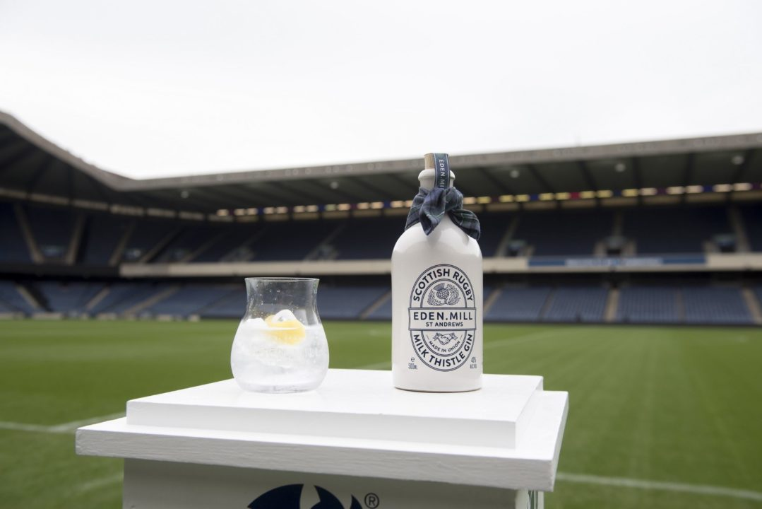 Featured Image for Scotland's rugby stars create 'scrummy' new gin