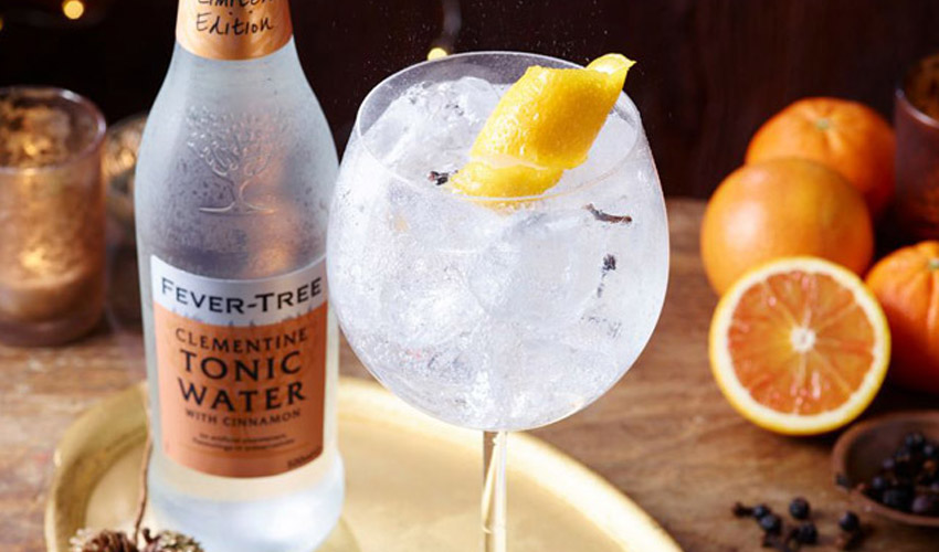 Featured Image for Clementine and Cinnamon Tonic Water Could Be What Your Gin is Missing This Season