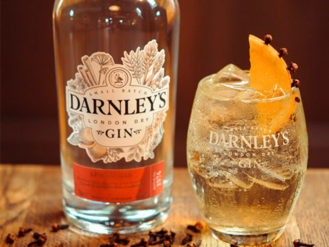Featured Image for Gin and Ginger Cocktail, with Darnley's Gin