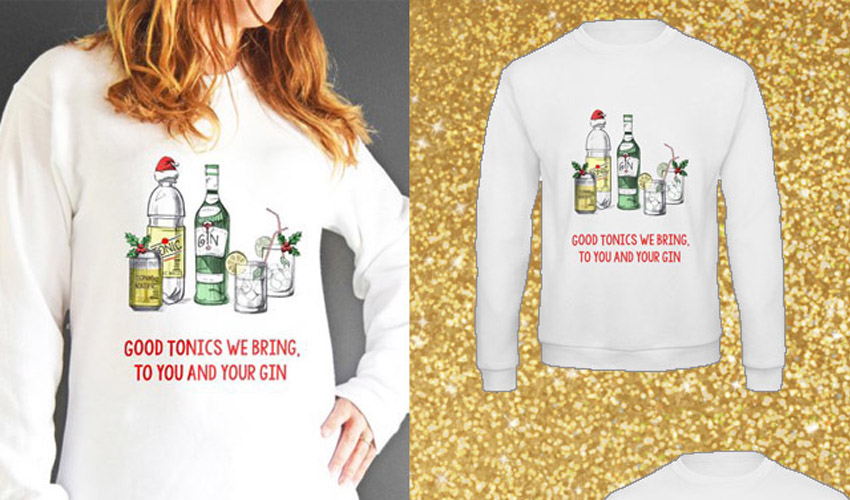 Featured Image for 14 Gin Christmas Jumpers Your Winter Wardrobe Will Thank You For