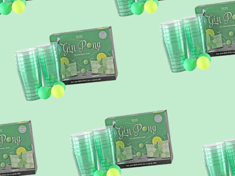 Featured Image for Gin pong is just what your party entertainment needs