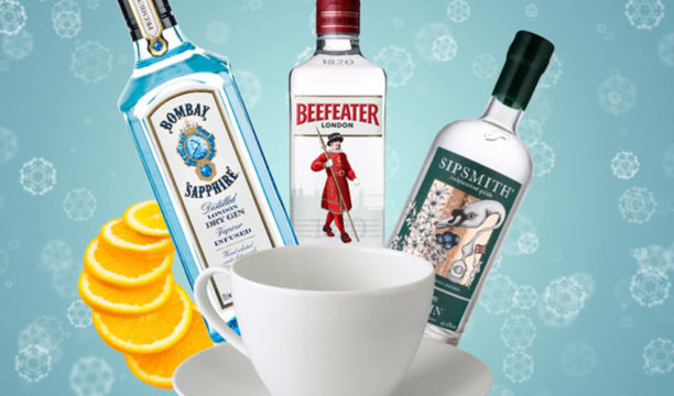 hot gin cocktails