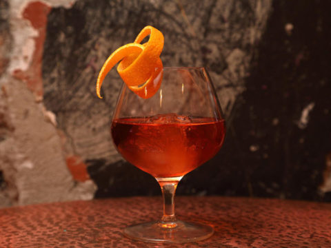 Featured Image for Winter Sipper Cocktail, with Christmas Edinburgh Gin