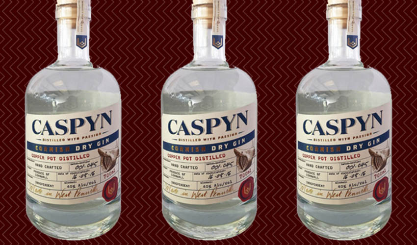 Featured Image for Review: Caspyn Cornish Dry Gin