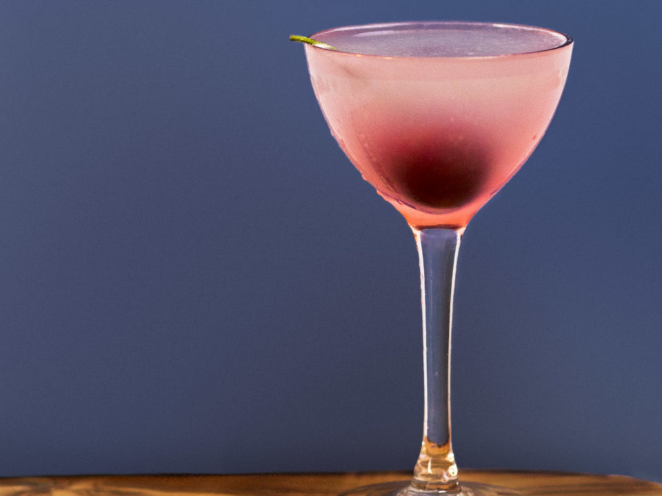 Featured Image for Cherry gin cocktail, with Maraschino liqueur