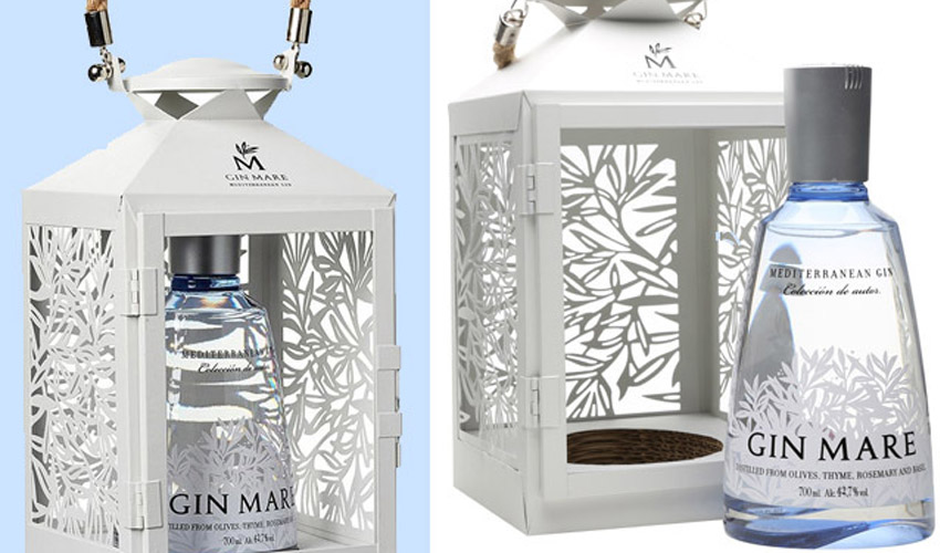 Featured Image for This Gin Lantern Gift Set Can Also Turn Your Garden into a Winter Wonderland