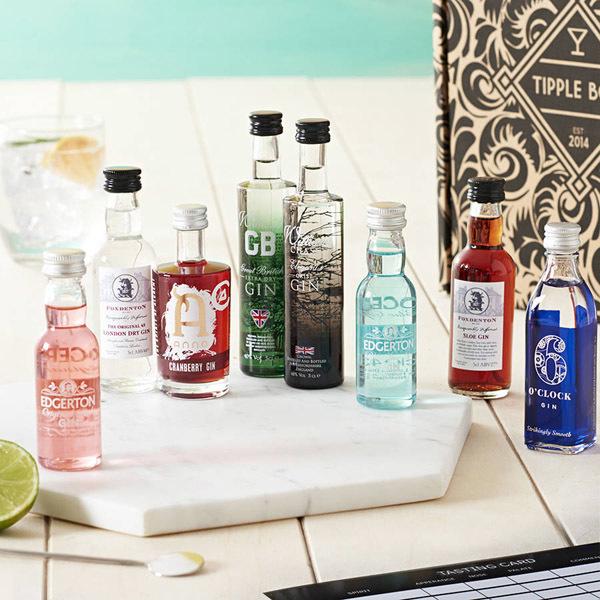 tipple gin selection box