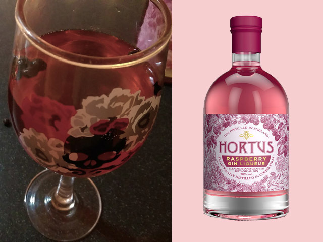 Featured Image for Raspberry gin cocktail, with Hortus Raspberry Liqueur
