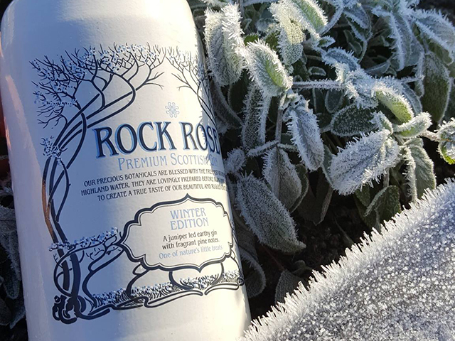 rock rose sloe gin is the autumnal release before Rock Rose's winter edition