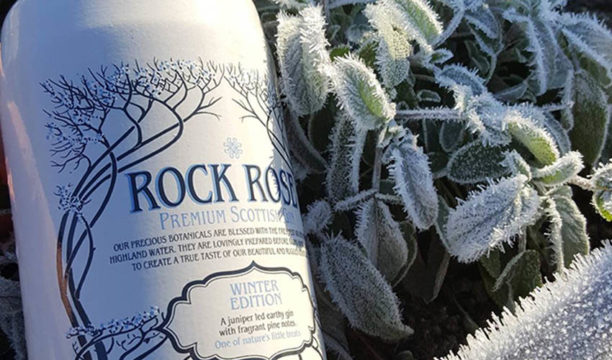 Featured Image for Review: Rock Rose Winter Edition Gin