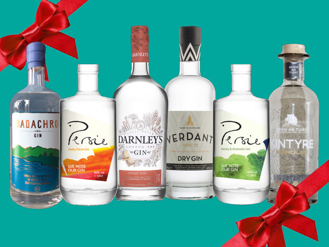 Featured Image for Six of the best — Our guide to the Scottish gins you want to be giving (and receiving) this Christmas