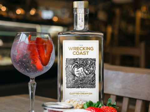 Featured Image for REVIEW: Wrecking Coast Clotted Cream Gin