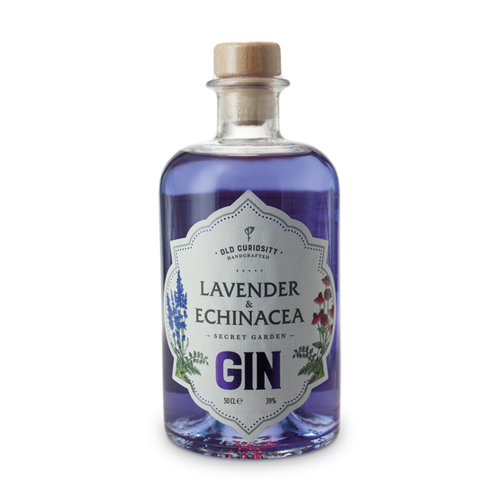 lavender colour changing gin