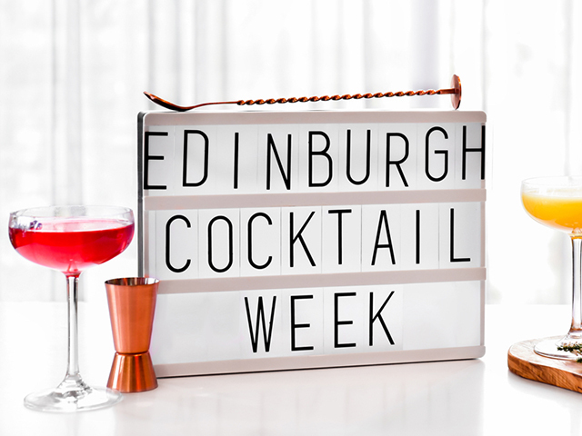 Featured Image for Edinburgh Cocktail Week is back for 2018