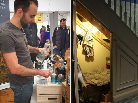 Featured Image for Meet the man who has the world's tiniest gin distillery in his cupboard