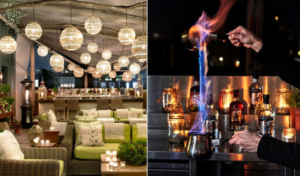 This Pop-Up London Rooftop Bar Is All about Hot Gin Cocktails