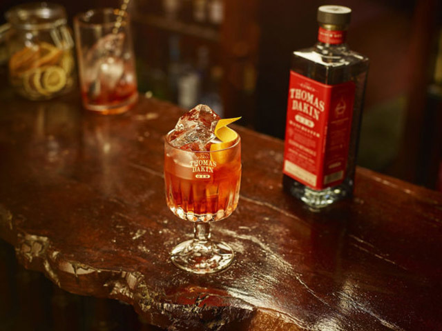 Featured Image for Gin and Ginger Negroni, with Thomas Dakin