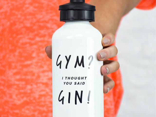 Featured Image for This gym gin water bottle is everything we feel right now