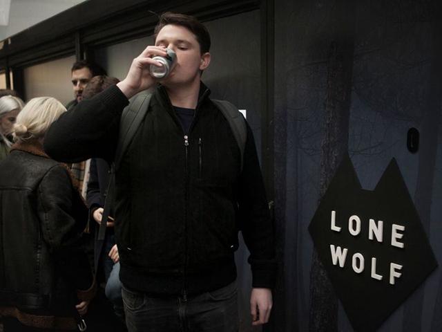LoneWolf gin and tonics