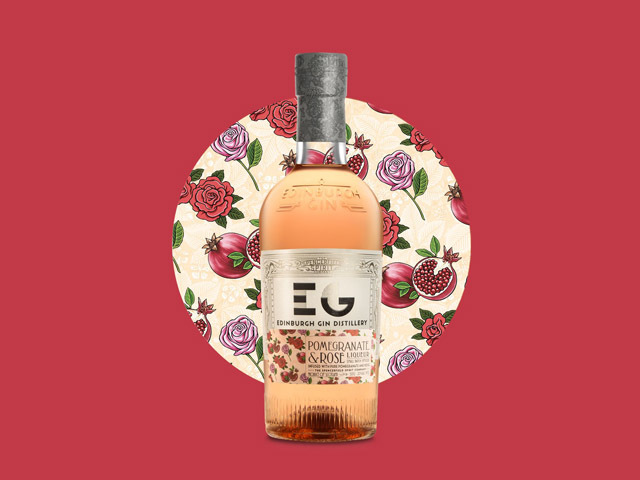 Featured Image for Edinburgh Gin released Pomegranate & Rose Liqueur and it's so heavenly