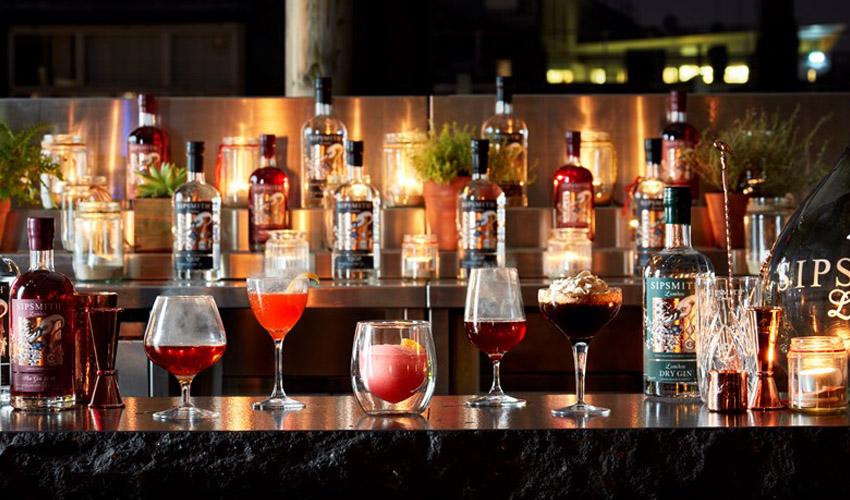 gin rooftop bar london