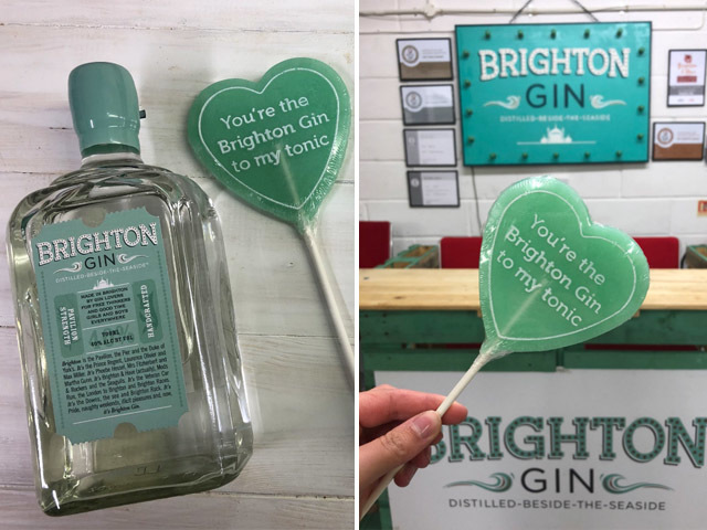 Featured Image for Brighton Gin just released adorable heart-shaped gin lollipops