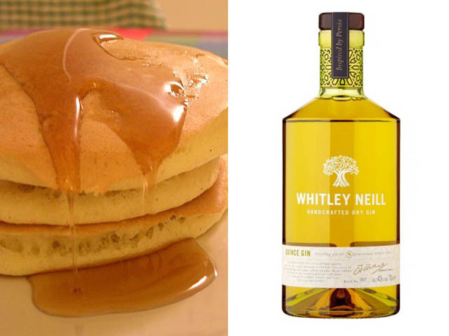 Featured Image for Gin Pancake Recipe, with Whitley Neill Quince Gin
