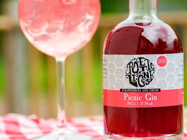Picnic Gin is also a strawberry cream gin delight