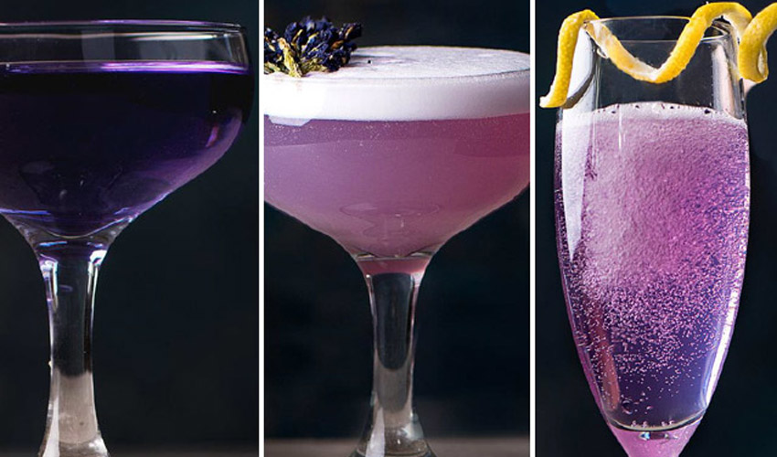 Featured Image for 10 Purple Cocktails That Are Simply Out of This World